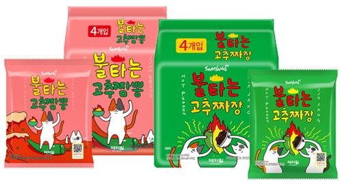 삼양식품 불타는 시리즈 대형마트 판매.jpg