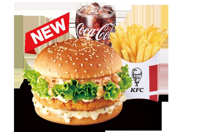 KFC 새우버거 캡새버거 세트.png